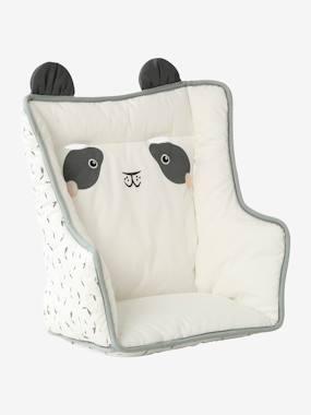 VERTBAUDET Kussen voor kinderstoel  ivoor panda